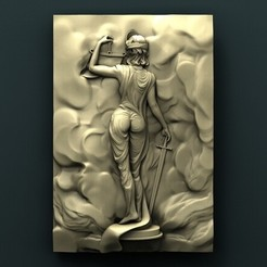 Download free 3D printing designs Face of Justice, stl3dmodel