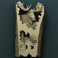 3d printer files Elk, Agorbar