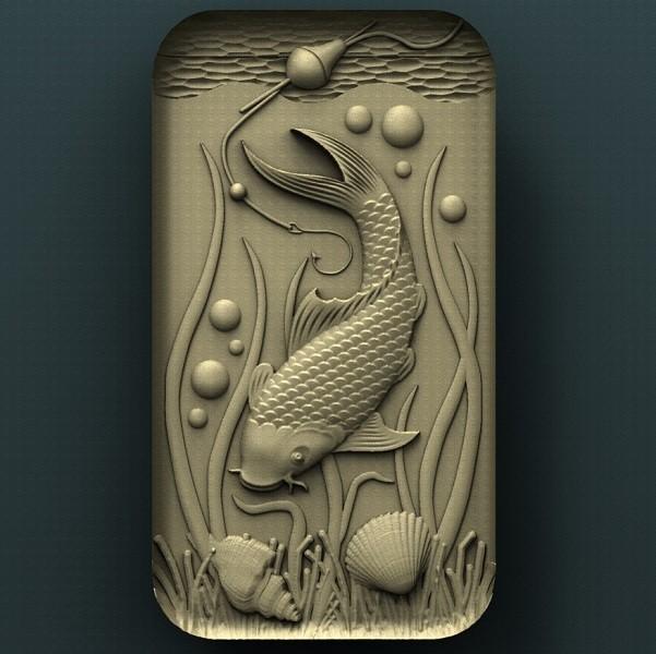 B234.jpg Download free STL file Fish • Template to 3D print, stl3dmodel