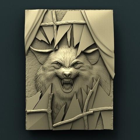Download free 3D printer model Wolf, stl3dmodel