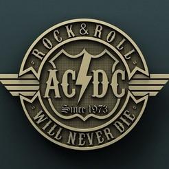 stl files AC DC, Agorbar