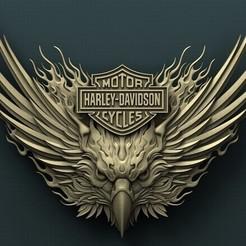 stl files Harley Davidson Eagle, Agorbar