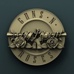 3d printer files Guns and Roses, Agorbar