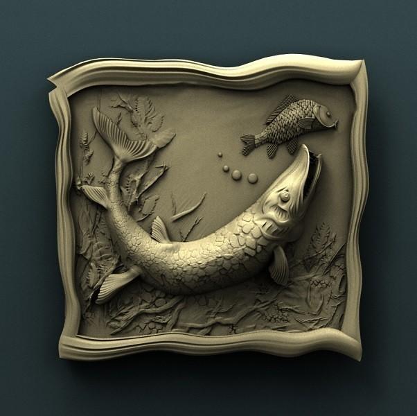 909. Panno.jpg Download free STL file Fish • Template to 3D print, stl3dmodel