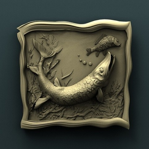 Download free 3D printer model Fish, stl3dmodel