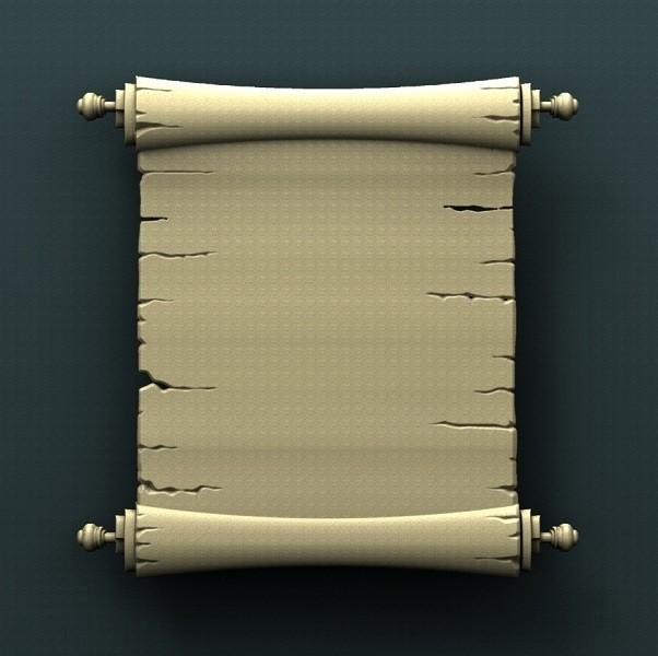 B103.jpg Télécharger fichier STL gratuit Parchemin • Design à imprimer en 3D, stl3dmodel