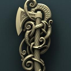 stl Viking ax, Agorbar