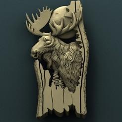 Download free 3D printer files Elk, stl3dmodel