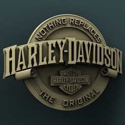 Download free STL files Harley Davidson , stl3dmodel