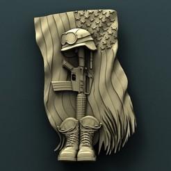 3d printer files Fallen Soldier, Agorbar