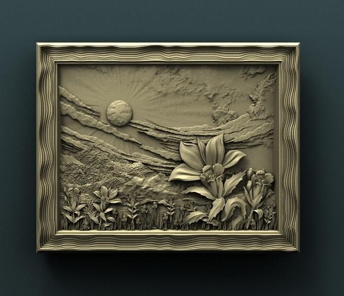 928. Panno.jpg Download free STL file Flowers • 3D printable object, stl3dmodel