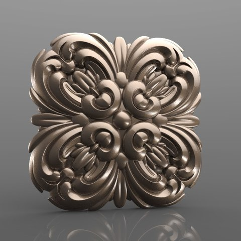 Download free 3D printer designs Vintage mouldings for old classic apartments cnc art router machine 3D printed, stl3dmodel