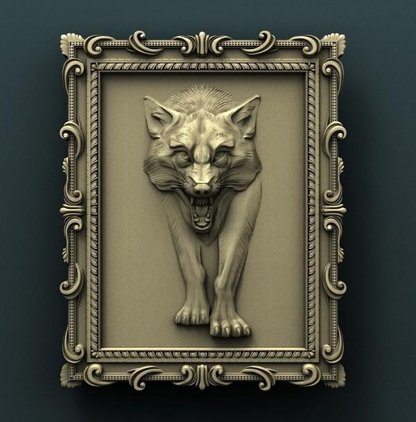 0.jpg Télécharger fichier STL gratuit Loup • Modèle pour impression 3D, stl3dmodel