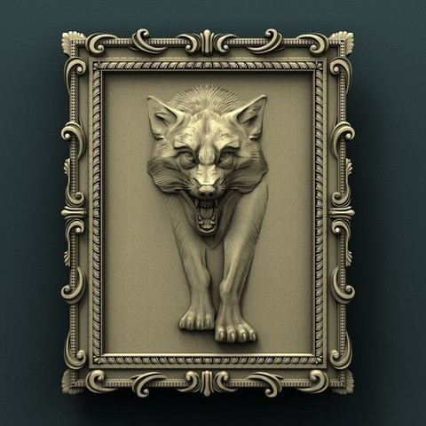 0.jpg Download free STL file Wolf • 3D printable design, stl3dmodel
