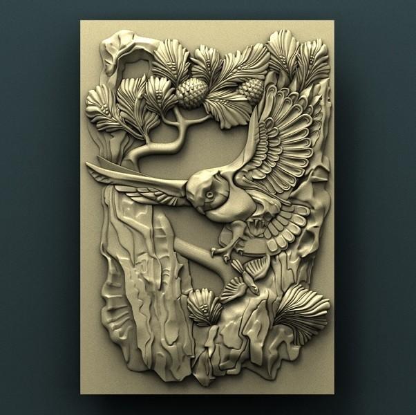923. Panno.jpg Télécharger fichier STL gratuit Hibou • Design à imprimer en 3D, stl3dmodel