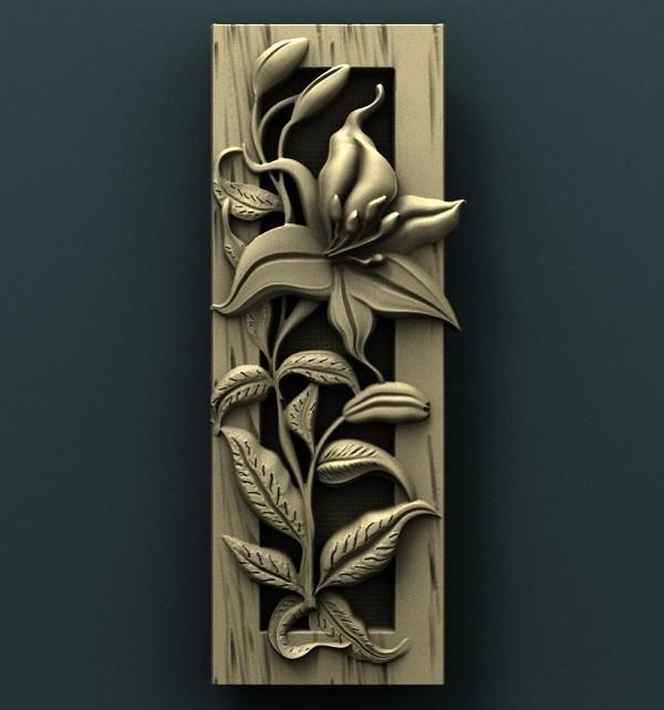 937. Panno.jpg Download free STL file Flowers • 3D printable object, stl3dmodel