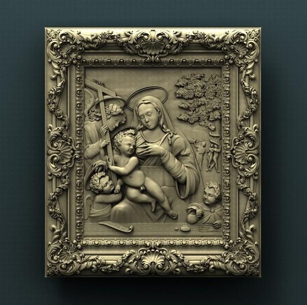 Madonna.jpg Download free STL file Madonna • 3D printing model, stl3dmodel
