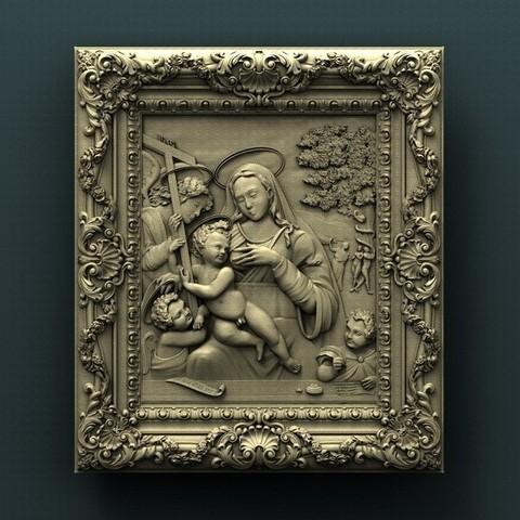 Descargar archivo 3D gratis Virgen, stl3dmodel