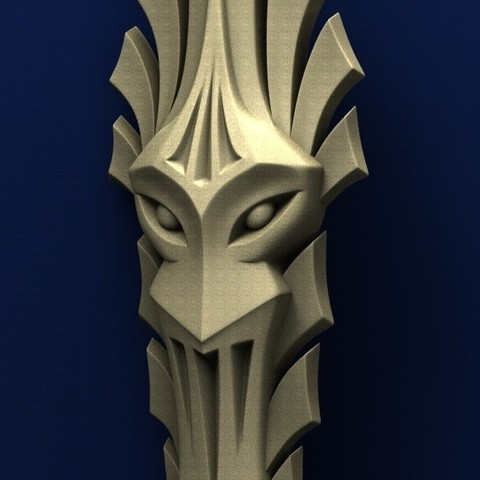 3.jpg Télécharger fichier STL gratuit Masque • Objet pour impression 3D, stl3dmodel