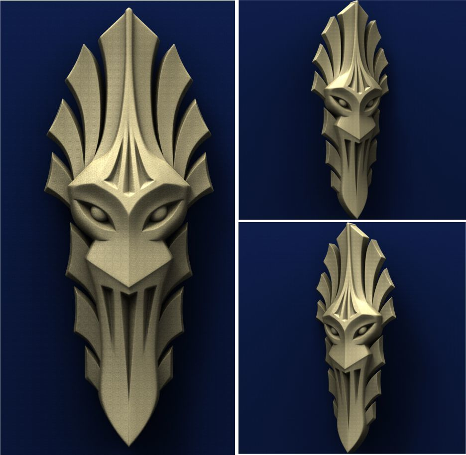 fb.jpg Télécharger fichier STL gratuit Masque • Objet pour impression 3D, stl3dmodel