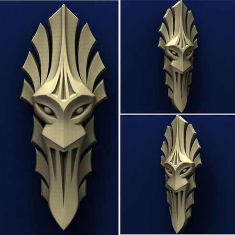 Télécharger plan imprimante 3D gatuit Masque, stl3dmodel
