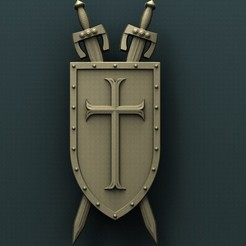 Download free 3D printing designs Shield, stl3dmodel
