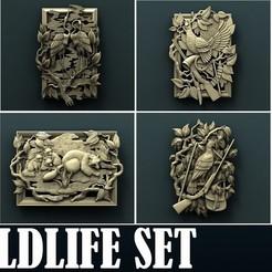 3d printer files Wildlife Set, Agorbar