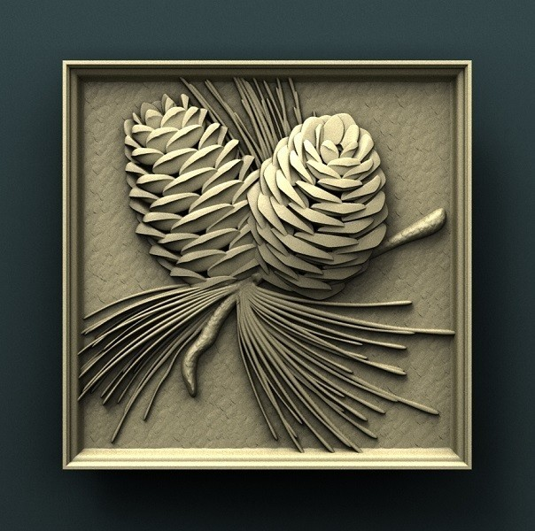 938. Panno.jpg Download free STL file Pine • 3D printer object, stl3dmodel