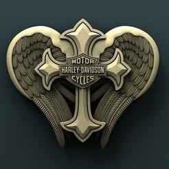 3d printer designs Harley Davidson Cross, Agorbar