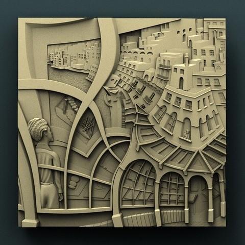 Imprimir en 3D gratis Ciudad, stl3dmodel