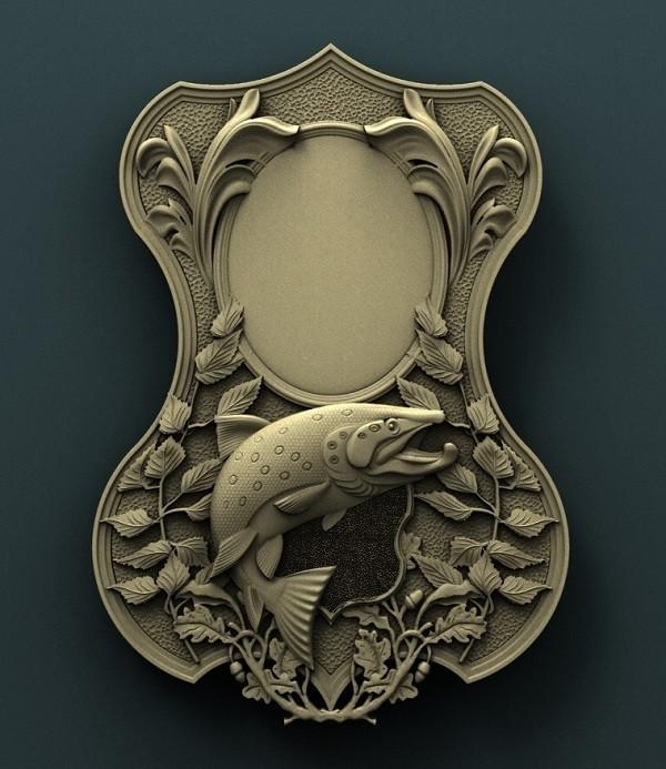 906. Panno.jpg Download free STL file Fish • Template to 3D print, stl3dmodel