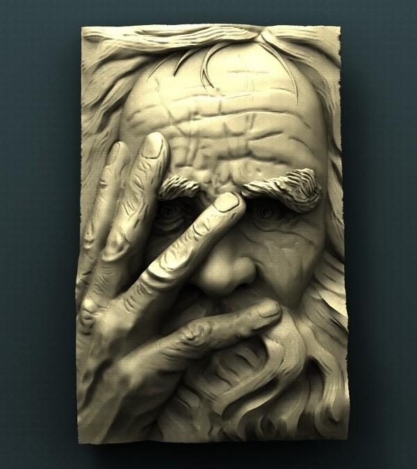 422. Saint Peter.jpg Download free STL file Saint Peter • 3D print object, stl3dmodel
