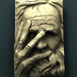 422. Saint Peter.jpg Download free STL file Saint Peter • 3D print object, stl3dmodel