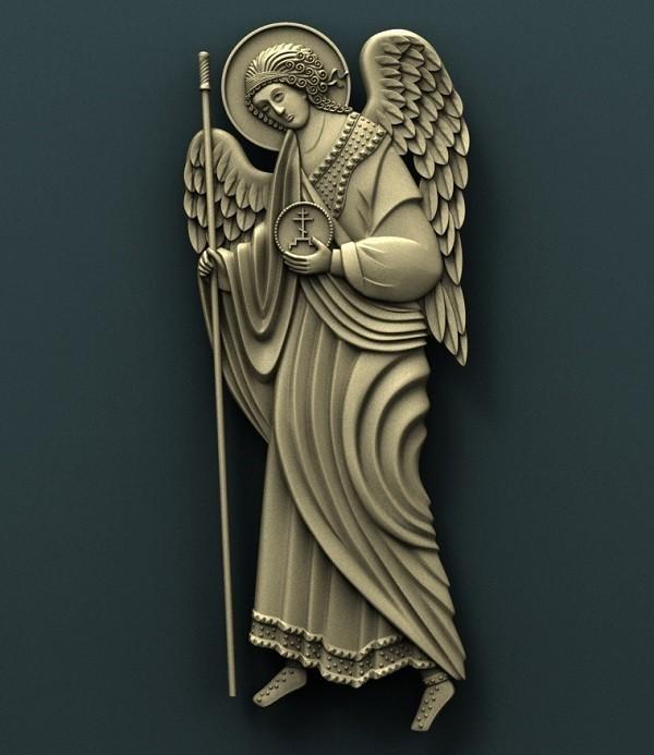 1.jpg Download free STL file Archangel Gabriel and Archangel Michael • 3D printing model, stl3dmodel