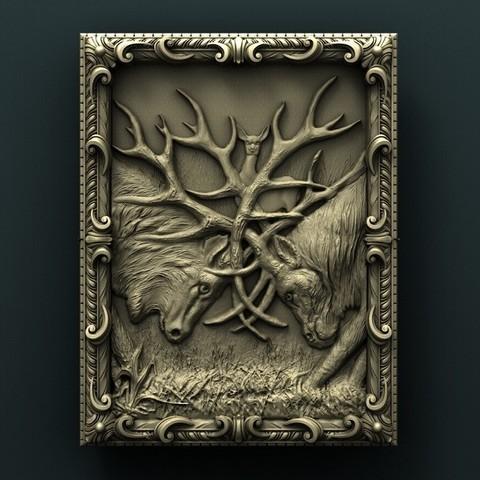 Archivos 3D gratis Ciervos, stl3dmodel
