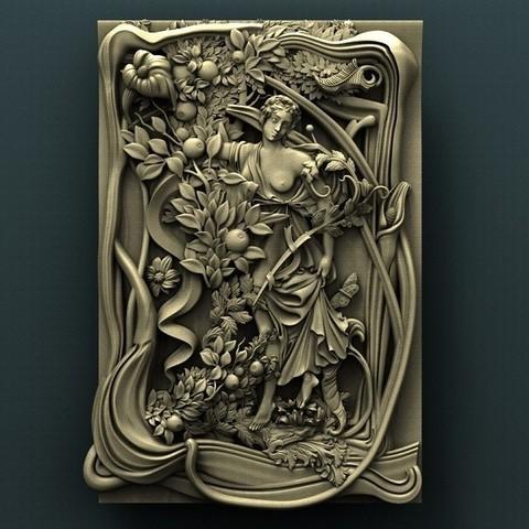 Download free 3D printing templates Woman, stl3dmodel