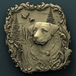Download free 3D printer model Dog, stl3dmodel