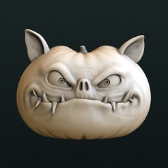 Download free STL file Halloween Pumpkin, stl3dmodel