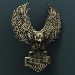 stl file Harley Davidson, Agorbar