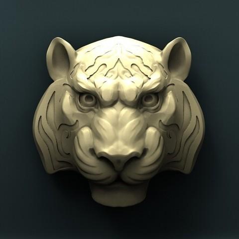 Télécharger fichier STL gratuit Tigre • Plan à imprimer en 3D, stl3dmodel