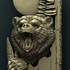 Download free 3D model Bear, stl3dmodel