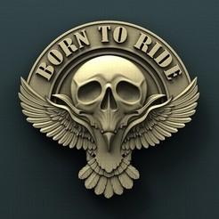 3d printer designs Raven skull, Agorbar