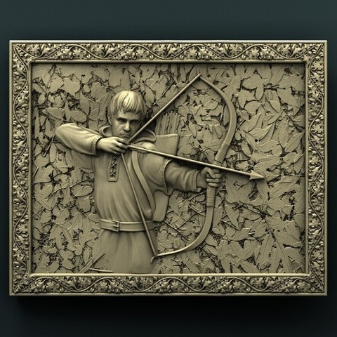Imprimir en 3D gratis Robin Hood, stl3dmodel
