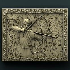 Download free 3D printing models Robin Hood, stl3dmodel