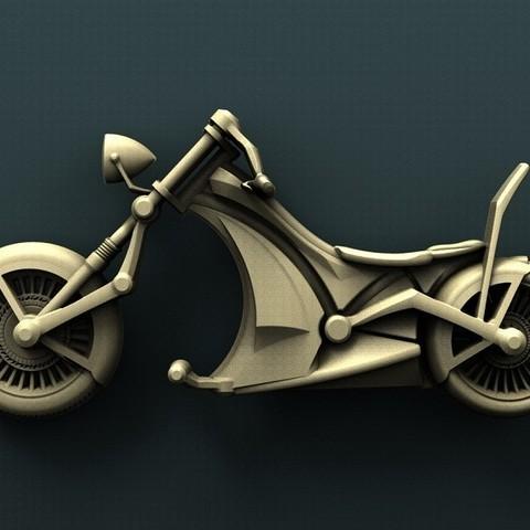 Download free 3D printer designs Chopper, stl3dmodel