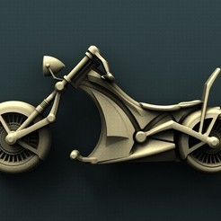Download free 3D printer designs Chopper, stl3dmodel