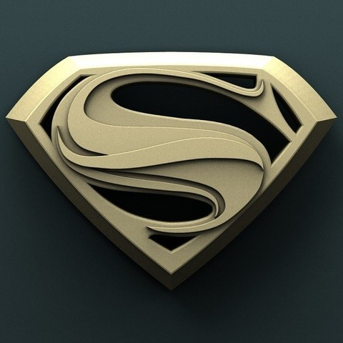 936. Superman.jpg Download free STL file Superman • 3D printable model, stl3dmodel