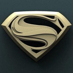 Download free STL files Superman, stl3dmodel