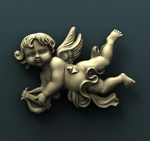 B172.jpg Download free STL file Angel • 3D printing design, stl3dmodel