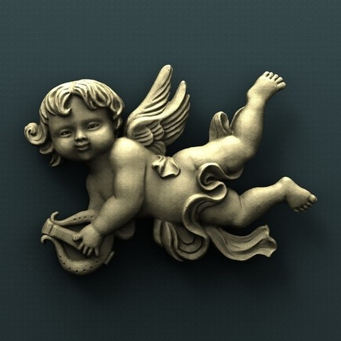 Download free 3D printer templates Angel, stl3dmodel